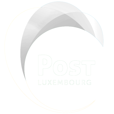 white logo Post LU